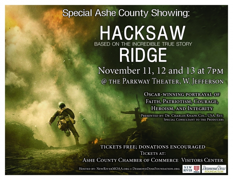 Hacksaw Ridge - Reprise of Movie Showing