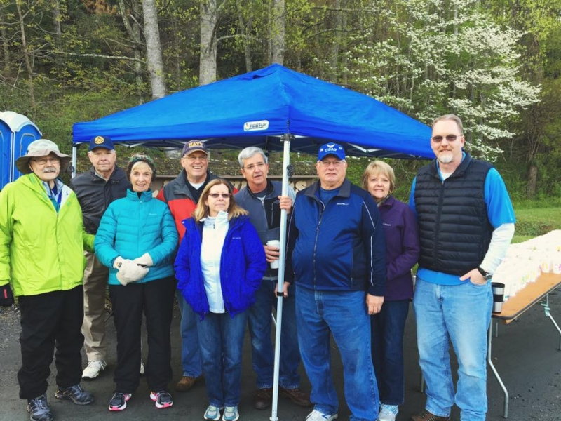 New River Chapter Supports Annual New River Marathon